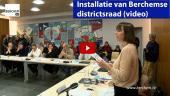 Installatie van Berchemse districtsraad Berchem TV