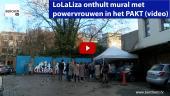 LoLaLiza onthult mural met powervrouwen in het PAKT Berchem TV Kris Gysels Montana Engels
